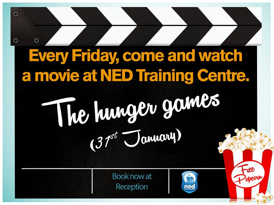 movie-time-at-ned-training-centre